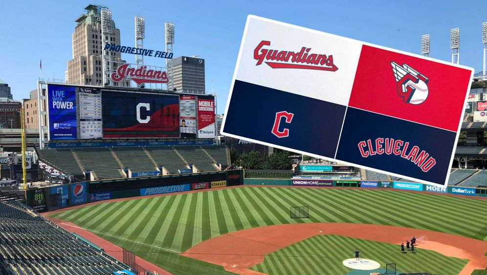 Im Progressive Field sind ab der kommenden Saison die Cleveland Guardians zu... - Bildquelle: imagi/twitter: @MLB