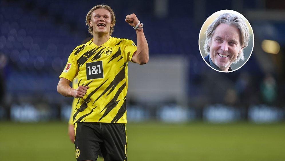 Jan Aage Fjörtoft lobt seinen Landsmann Erling Haaland in den größten Tönen. - Bildquelle: Imago Images