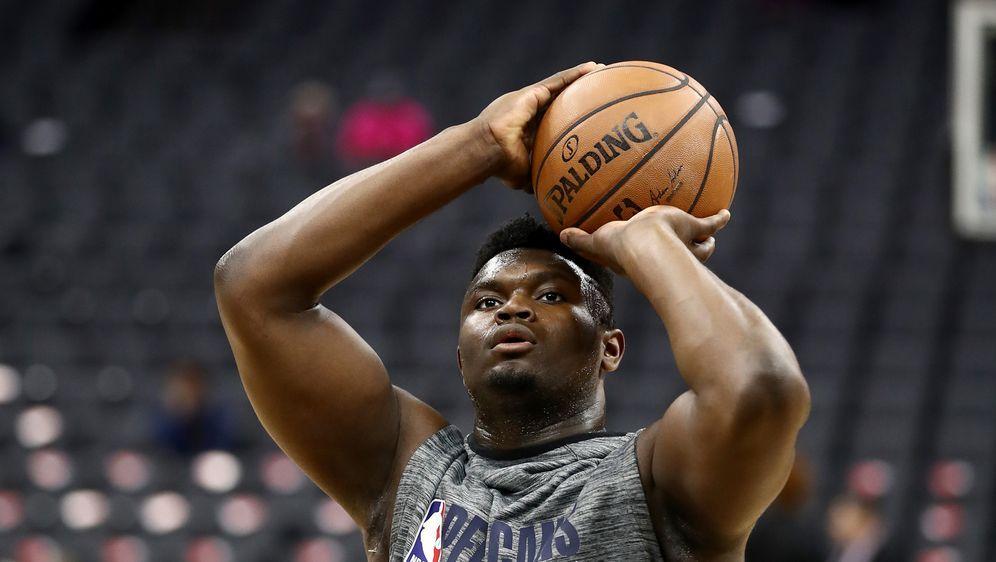 Soll seinen ersten NBA-Einsatz bekommen: Zion Williamson - Bildquelle: Getty Images