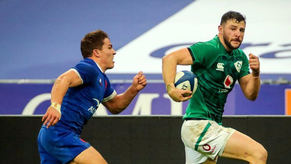 Frankreich gewinnt gegen Irland. - Bildquelle: imago images/Inpho Photography