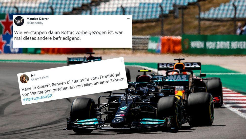 Die Netzreaktionen zum Grand-Prix von Portugal. - Bildquelle: imago images/Motorsport Images