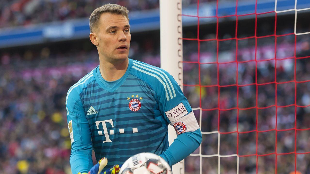 Manuel Neuer (FC Bayern) - Bildquelle: imago