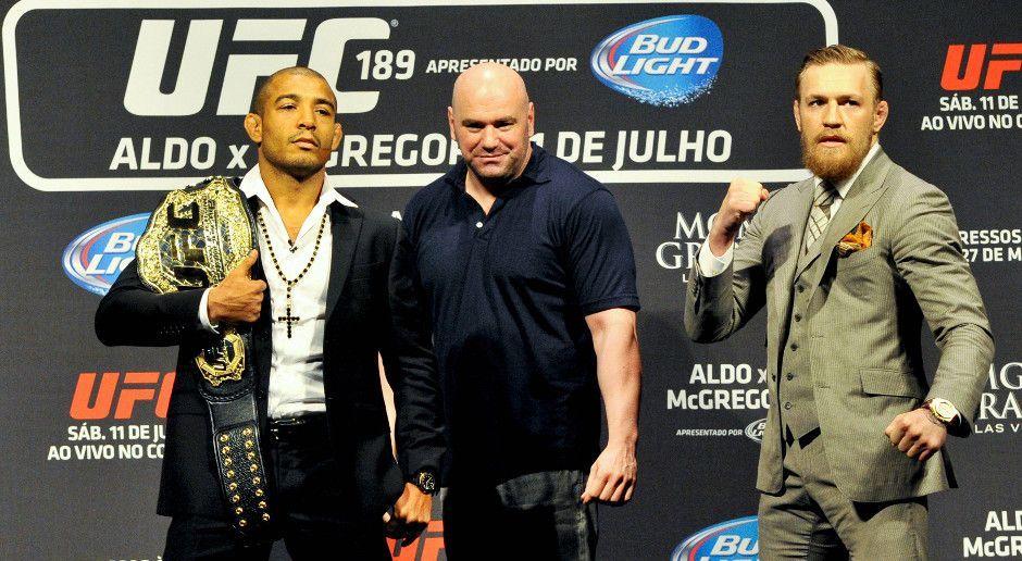 12. Dezember 2015: Aldo vs. McGregor - Bildquelle: imago sportfoto