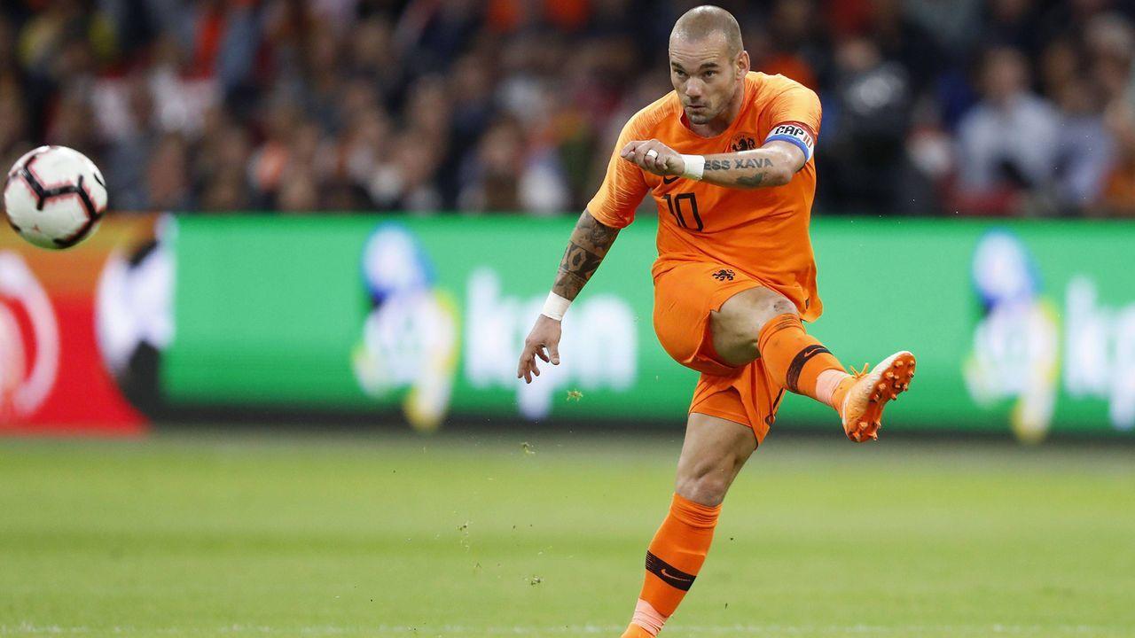 Niederlande: Wesley Sneijder - Bildquelle: imago/VI Images