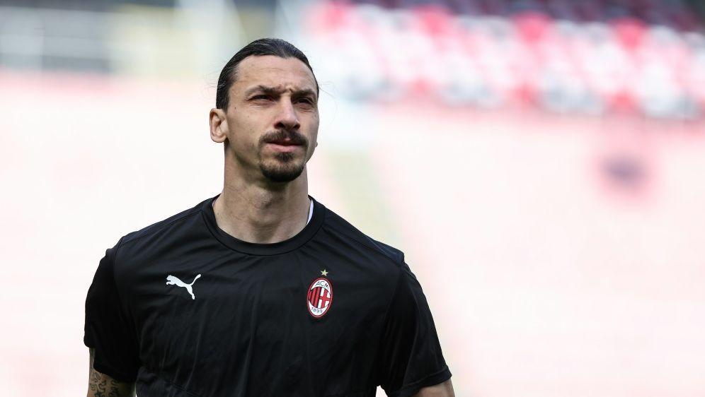 Zlatan Ibrahimovic verlängert seinen Vertrag in Mailand - Bildquelle: firofiroSID