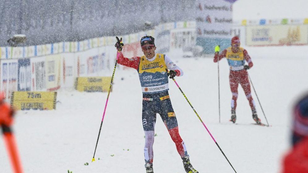 Kläbo sichert für Norwegen die vierte WM-Goldmedaille - Bildquelle: AFPSIDCHRISTOF STACHE