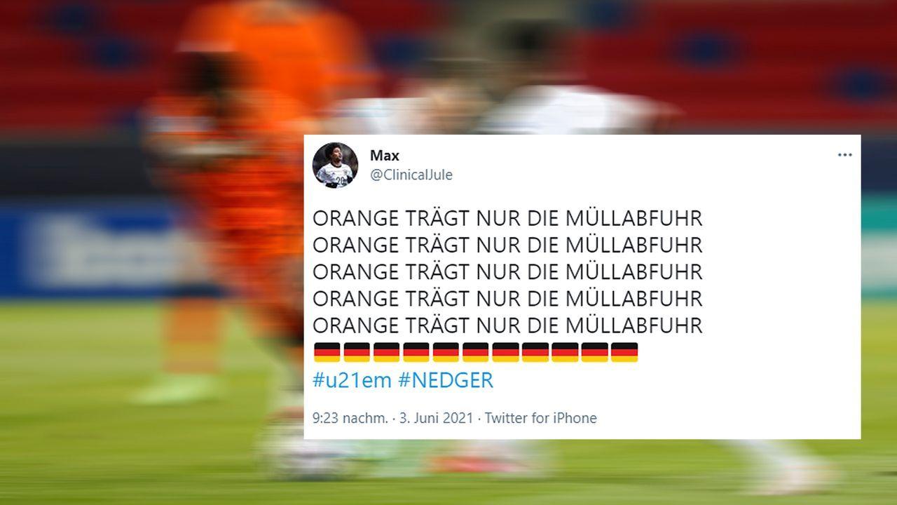 Ohne Holland fahren wir .... ins Finale  - Bildquelle: twitter@ClinicalJule