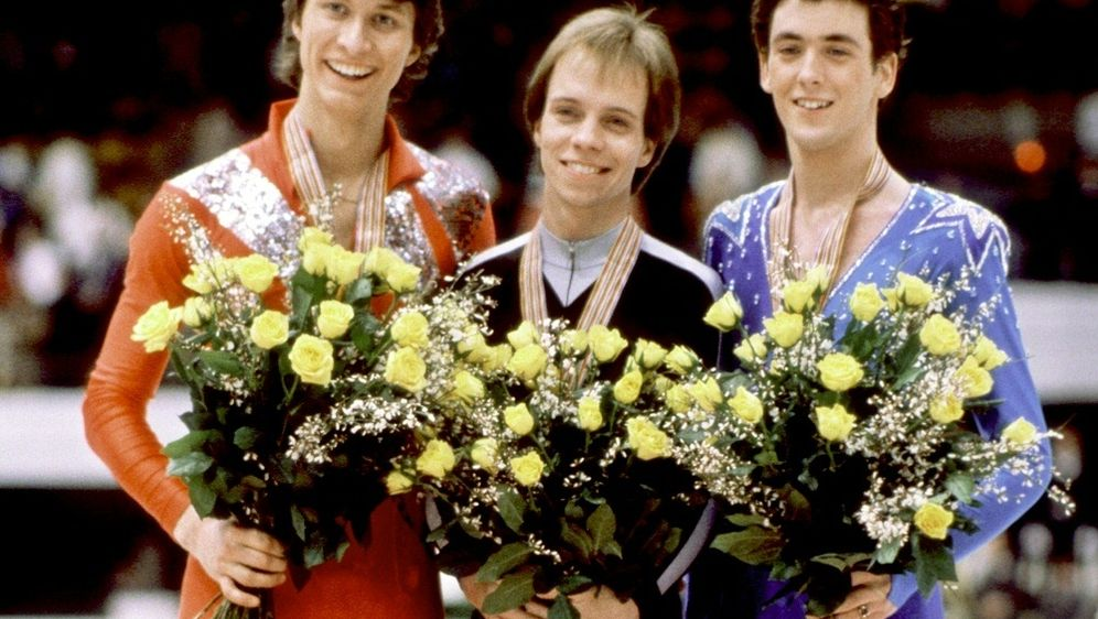 Eiskunstlauf-Europameister Norbert Schramm (l.) - Bildquelle: LEHTIKUVALEHTIKUVASID
