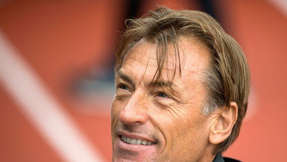 Marokkos Trainer Renard ist vom Zuspruch überwältigt - Bildquelle: AFPSIDFADEL SENNA