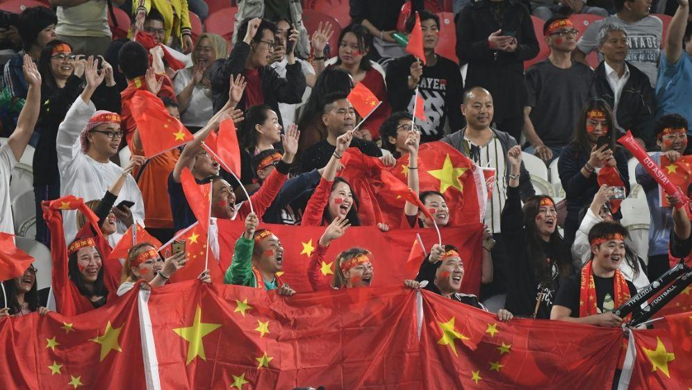 China richtet 2023 den Asien-Cup aus - Bildquelle: AFPSIDROSLAN RAHMAN