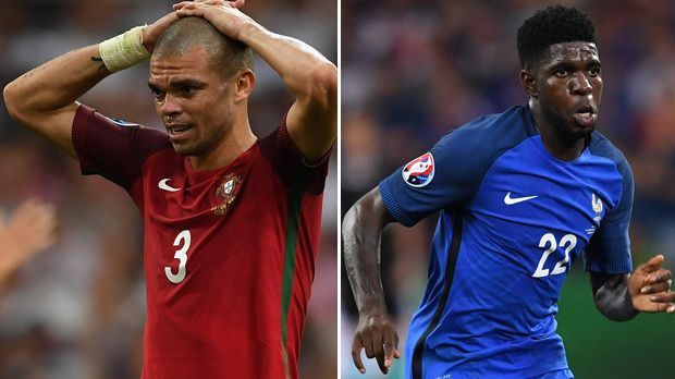 Pepe vs. Samuel Umtiti - Bildquelle: Getty Images
