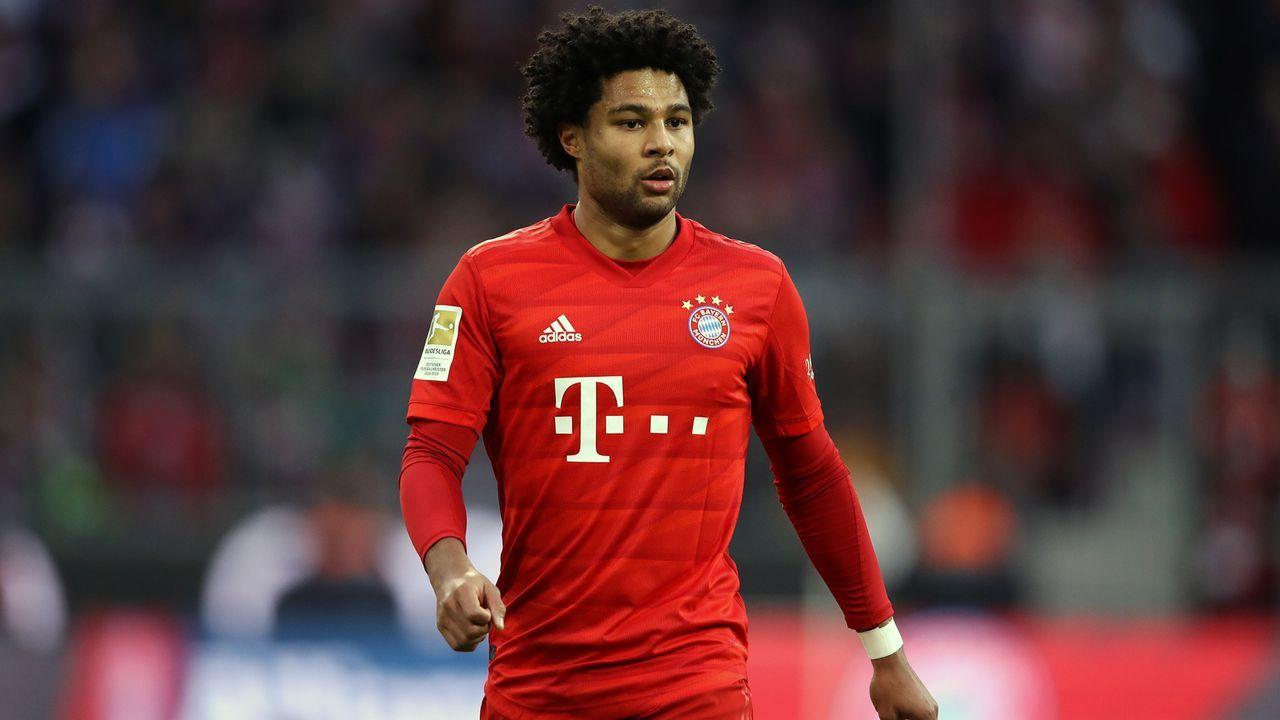 Platz 23 - Serge Gnabry (FC Bayern München) - Bildquelle: 2019 Getty Images