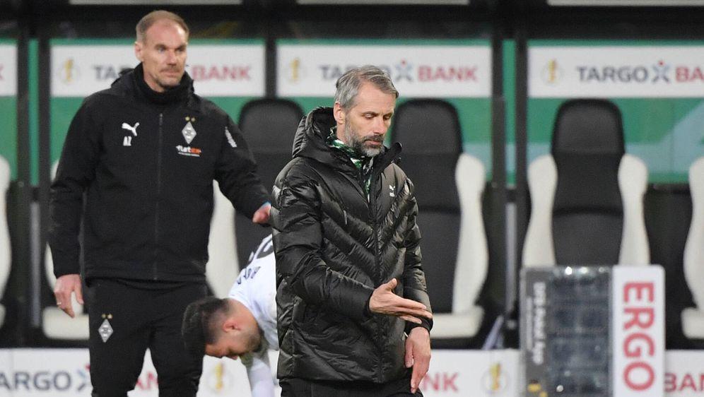 Verlor im DFB-Pokal-Viertelfinale knapp gegen den BVB: Gladbach-Trainer Marc... - Bildquelle: Imago Images
