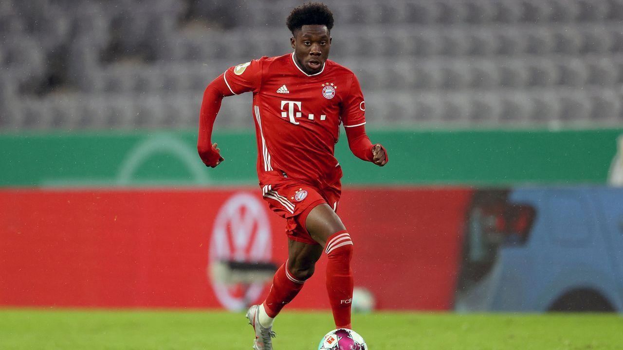 Alphonso Davies (FC Bayern München) - Bildquelle: 2020 Getty Images