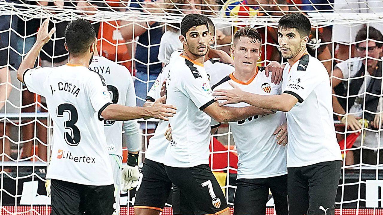Topf 3: Valencia CF - Bildquelle: imago images / Alterphotos