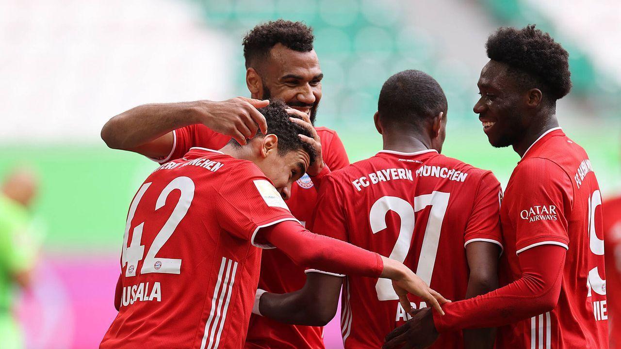 Musiala-Gala gegen Wolfsburg: Bayern-Stars in der Einzelkritik - Bildquelle: Imago Images