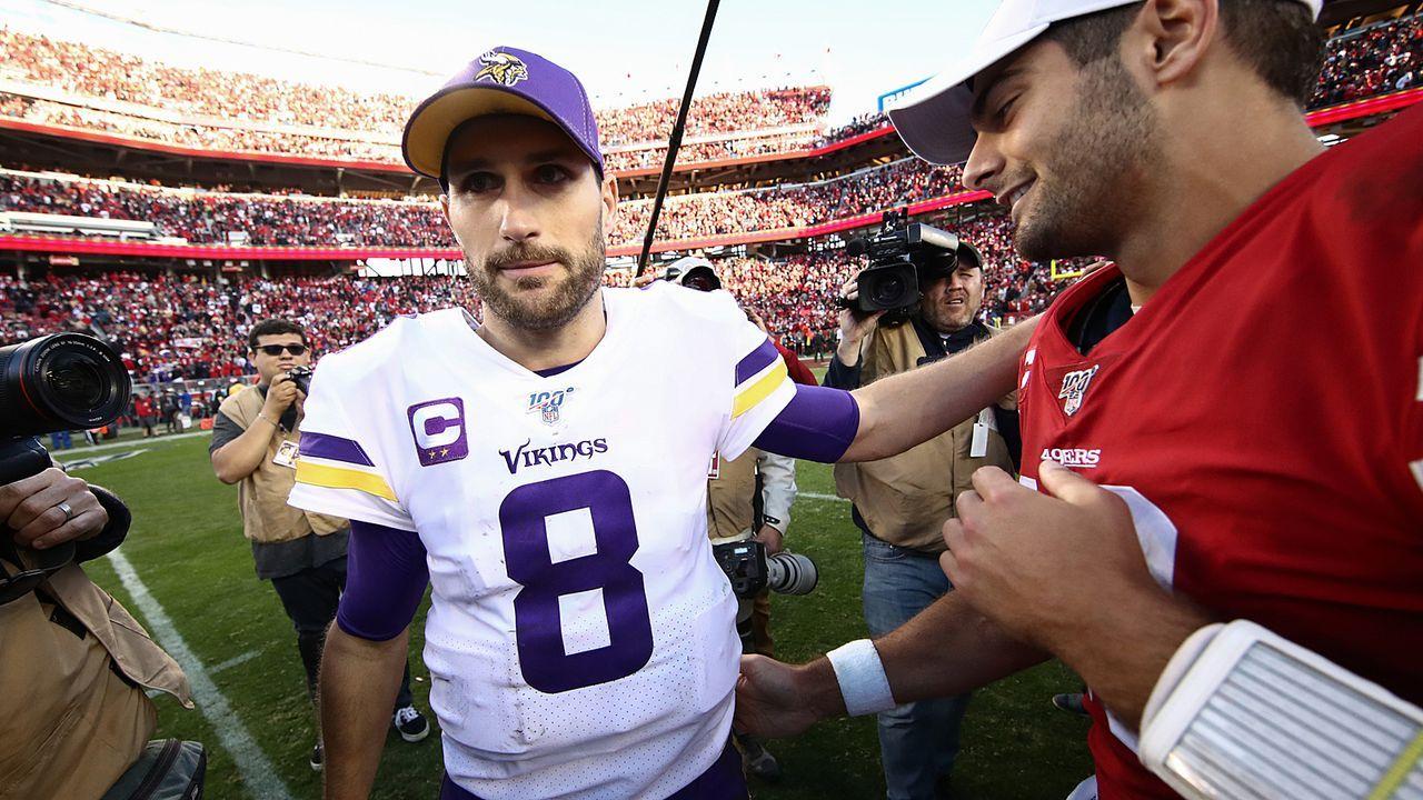 Kirk Cousins (Minnesota Vikings) - Bildquelle: 2020 Getty Images