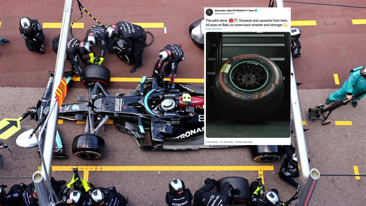 Mercedes atmet auf: Das Bottas-Rad ist endlich ab - Bildquelle: imago images/Motorsport Images