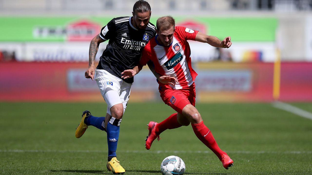 Hamburger SV muss besser punkten als Heidenheim - Bildquelle: Getty Images