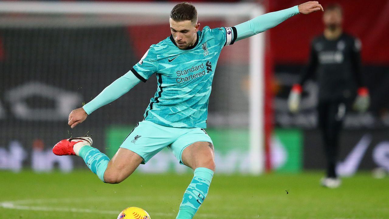 Mittelfeld: Jordan Henderson (FC Liverpool) - Bildquelle: 2021 Getty Images