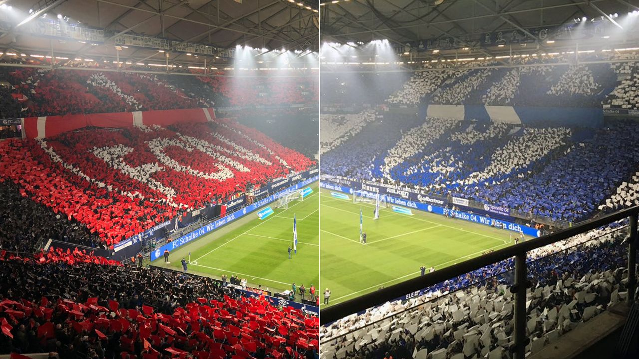 Fanfreundschaft Schalke und Nürnberg - Bildquelle: twitter@sportpmueller/twitter@Buzz04App