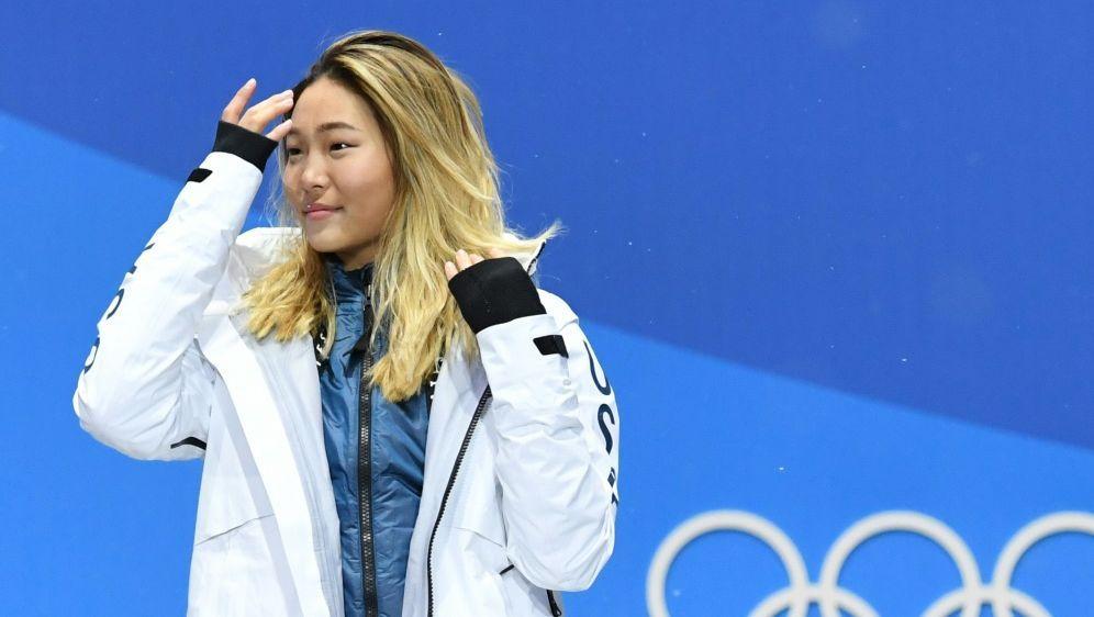 Chloe Kim muss wegen eines Knöchelbruchs operiert werden - Bildquelle: AFPSIDKIRILL KUDRYAVTSEV