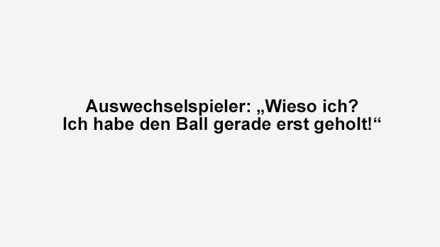 Auswechselspieler - Bildquelle: ran.de
