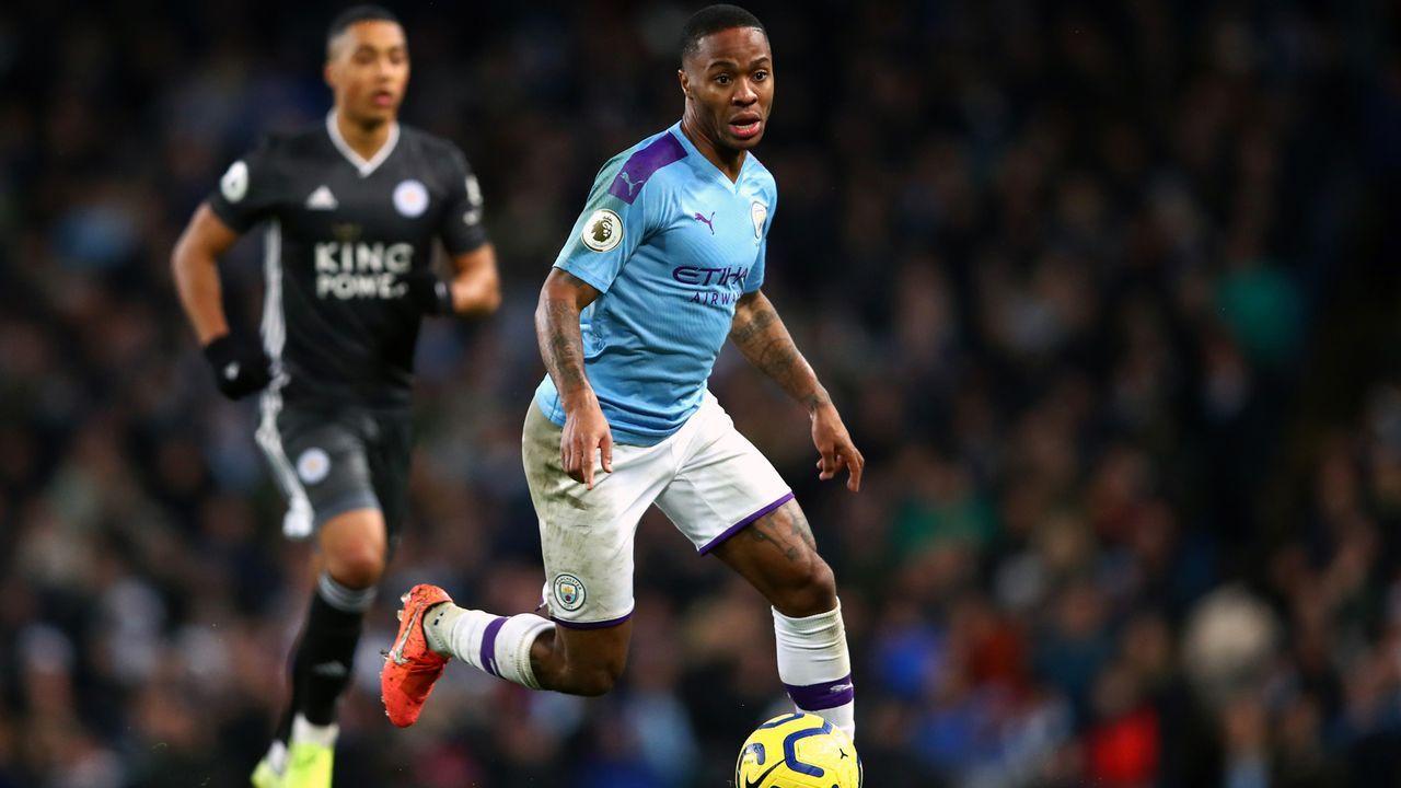 Platz 2 - Raheem Sterling (Manchester City) - Bildquelle: 2019 Getty Images