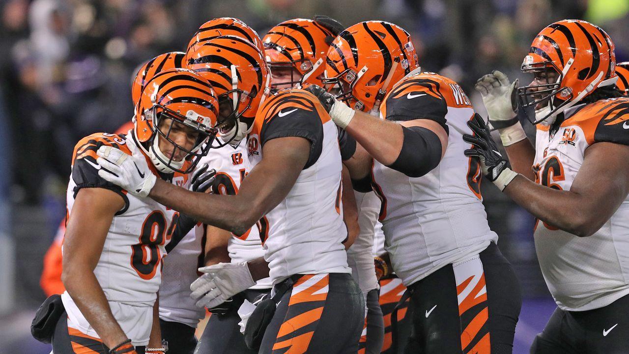 Platz 30: Cincinnati Bengals - Bildquelle: 2017 Getty Images