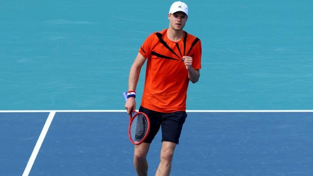 Yannick Hanfmann zieht ins Viertelfinale ein - Bildquelle: AFPGETTY SIDMARK BROWN