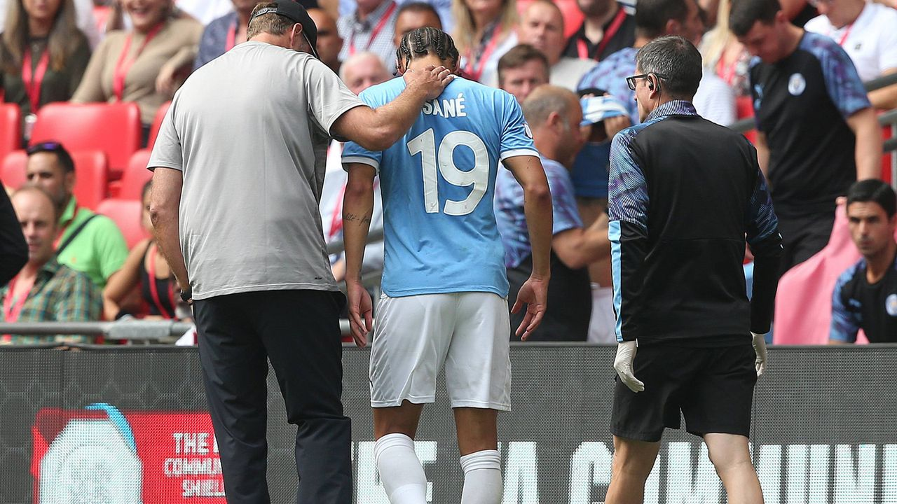 Leroy Sane gegen Liverpool - Bildquelle: imago images / Focus Images