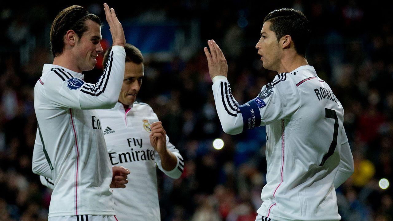 Real Madrid - Bildquelle: 2014 Getty Images