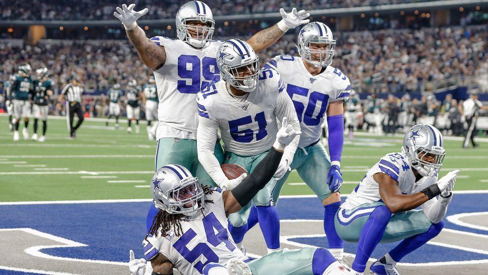 Die Dallas Cowboys hatten keine Probleme mit den Philadelphia Eagles. - Bildquelle: imago