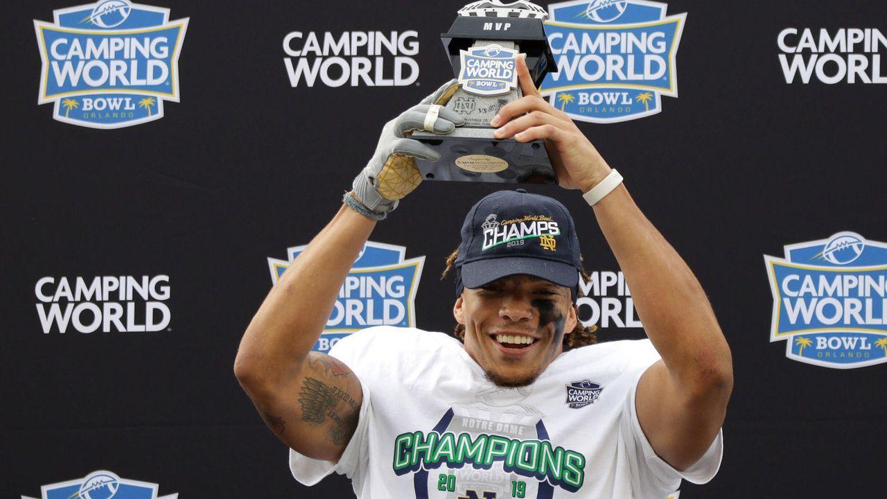 Von Notre Dame in die NFL - Bildquelle: imago images/ZUMA Press