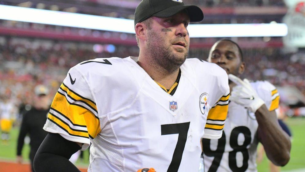Roethlisberger führt die Steelers zum Sieg - Bildquelle: GETTY IMAGES NORTH AMERICAGETTY IMAGES NORTH AMERICASIDJulio Aguilar