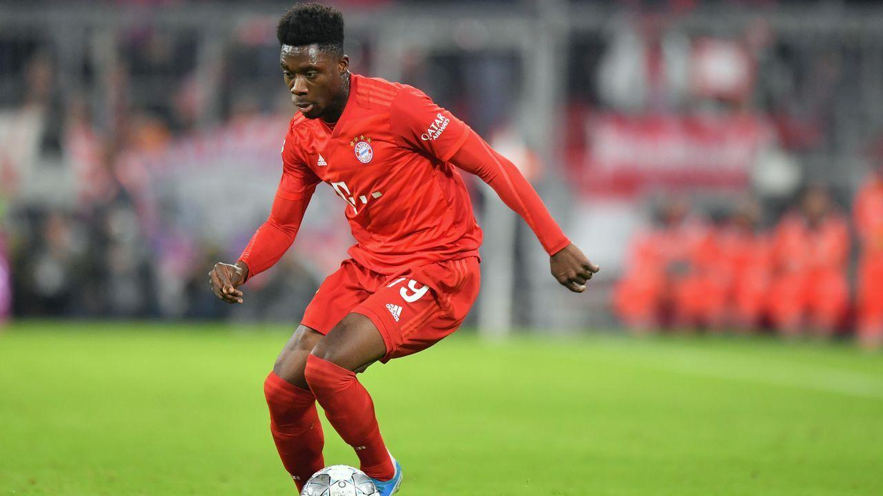 Alphonso Davies (FC Bayern München) - Bildquelle: 2019 Getty Images