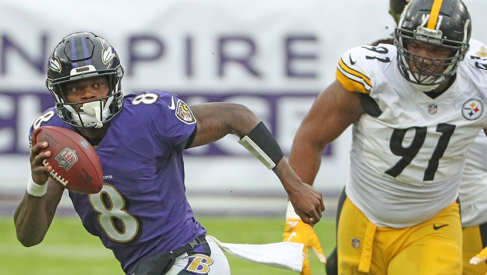 Das Spiel zwischen den Pittsburgh Steelers und den Baltimore Ravens wird auf... - Bildquelle: getty