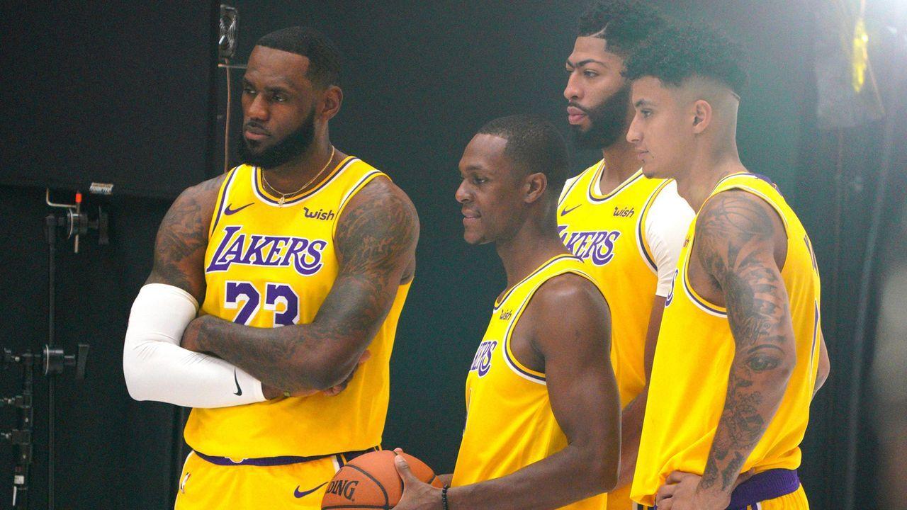 Platz 2: Los Angeles Lakers - Bildquelle: imago