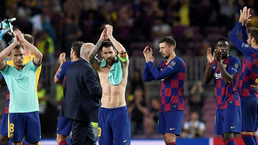 """""""Wir stehen zusammen"""": Lionel Messi - Bildquelle: AFPAFPJosep LAGO"""