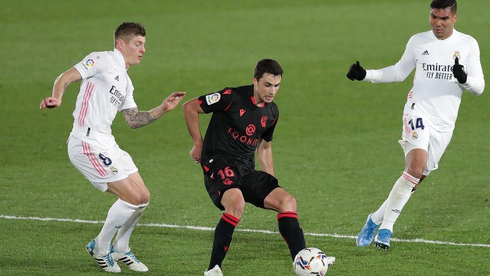 Real Madrid nur 1:1 gegen San Sebastian - Bildquelle: Getty Images