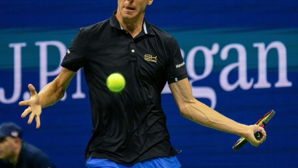 Stebe scheiterte als letzter Deutscher im ATP-Turnier - Bildquelle: AFPSIDDON EMMERT