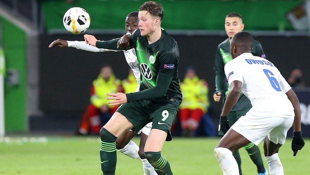 Wolfsburg musste sich zu Hause gegen Gent geschlagen geben. - Bildquelle: imago