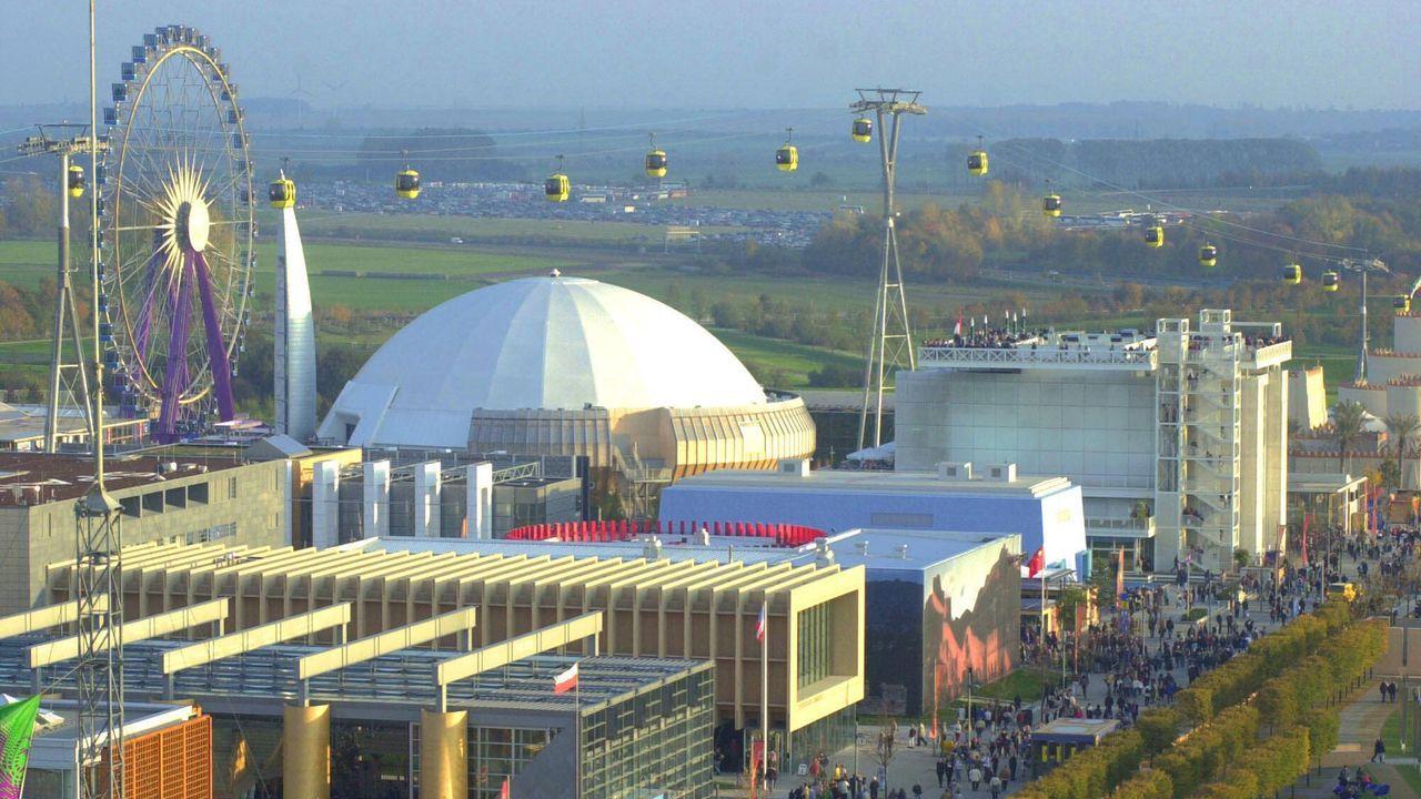 Die Expo findet in Hannover statt - Bildquelle: imago images/localpic