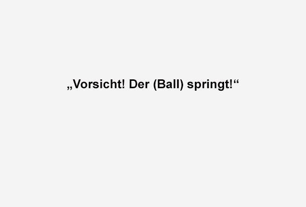 Nicht dotzen lassen - Bildquelle: ran.de