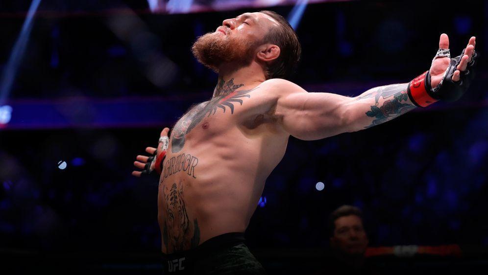 """Conor McGregor sagt """"Adieu"""" - mal wieder. - Bildquelle: Getty Images"""