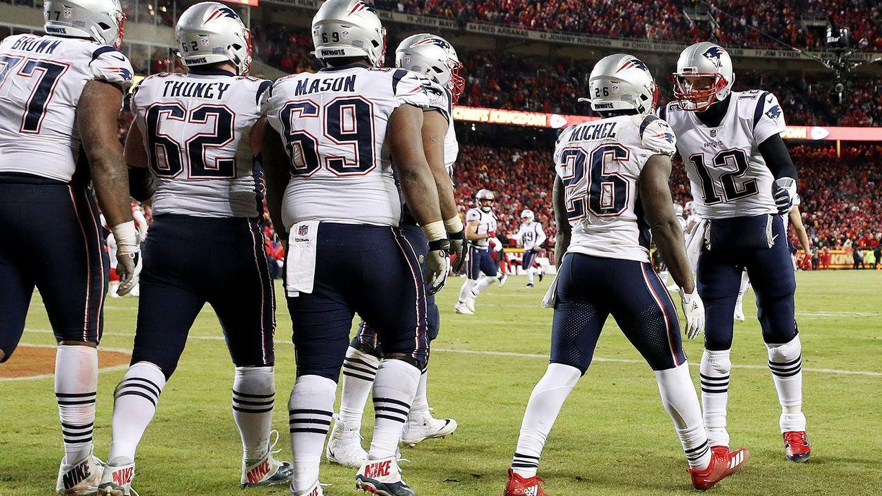 Platz 2: New England Patriots - Bildquelle: 2019 Getty Images