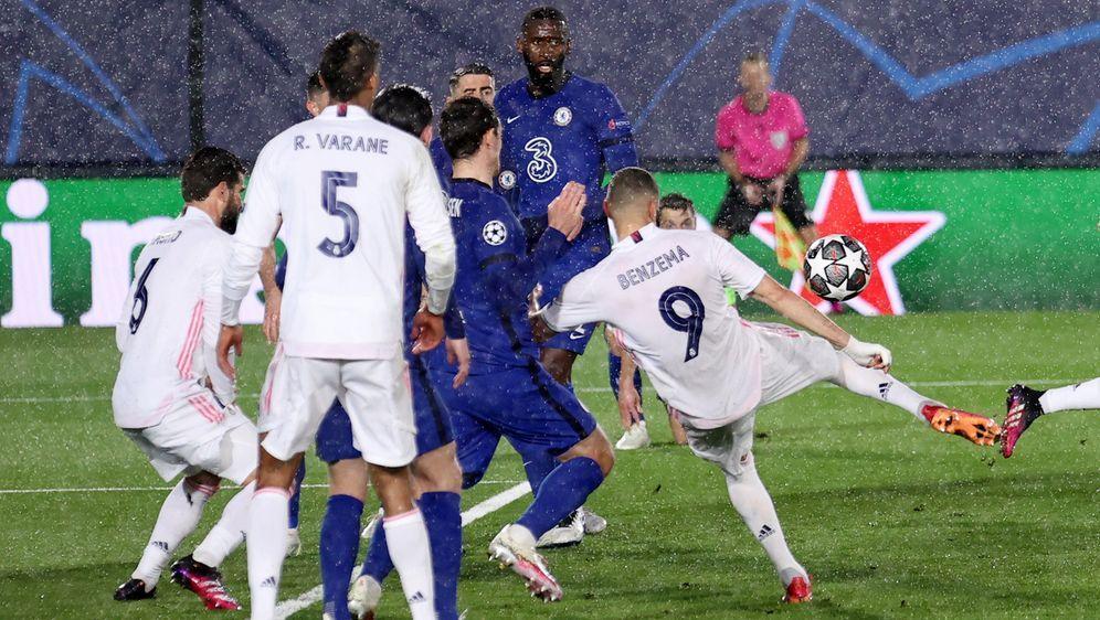 Karim Benzema erzielte den Ausgleich für Real Madrid. - Bildquelle: getty