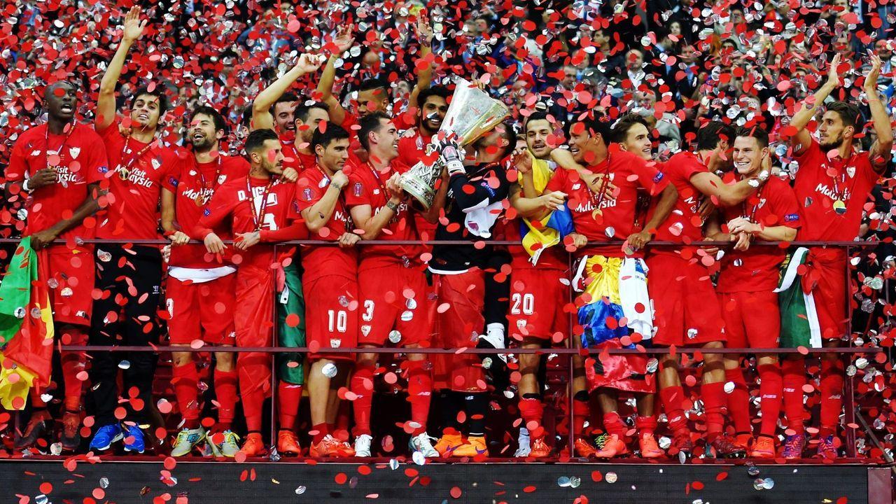 Nur Sevilla gelang die Titelverteidigung