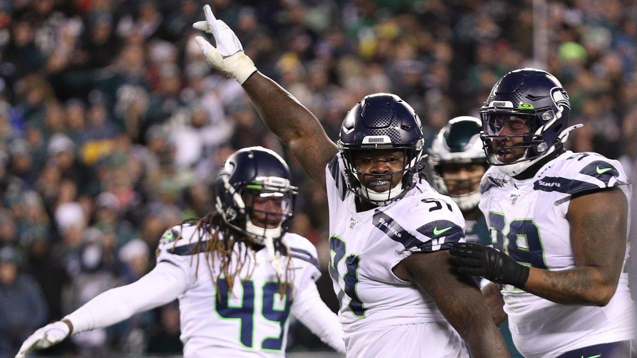 Platz 15 (geteilt): Seattle Seahawks - Bildquelle: 2020 Getty Images