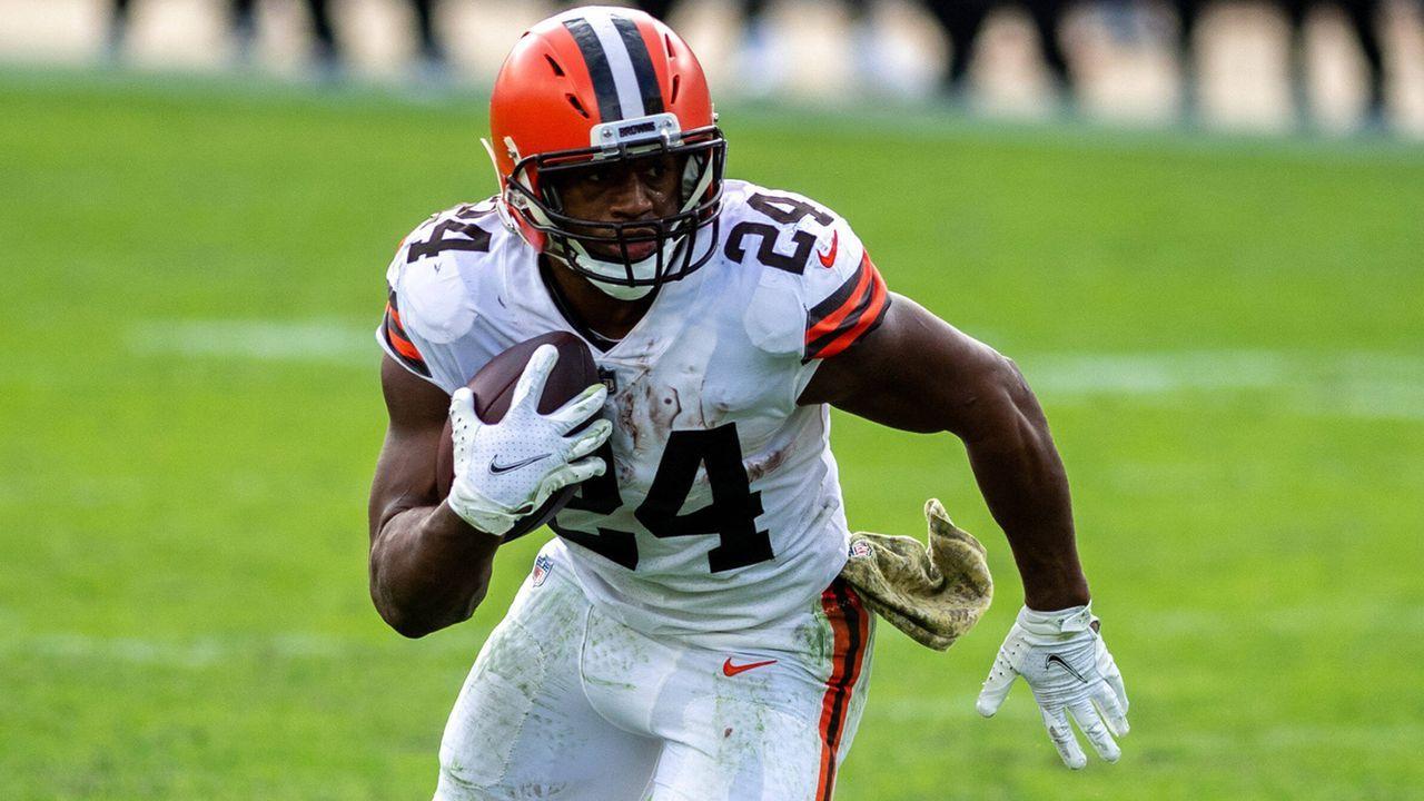 4. Nick Chubb (Cleveland Browns) - Bildquelle: imago images/ZUMA Wire